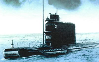 дизельная лодка 629